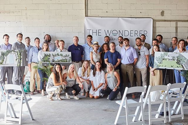 It's official! @thewondererchs has broken ground! We welcome this modern oasis to #Charleston, and look forward to working with everyone involved. Link in bio.  @hustlesmoothiebar @osdla @thomasanddenzinger @therandolphcompany @venitaaspen @snyderevents @eastcoastentertainment @elizabeth.stuart.design @flyawayrealestate  #privateclub #eventspace #thewonderer #thecharlestonoasis 📸: @msnphotography
