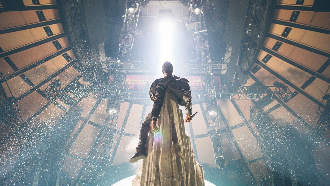 Kanye West Yeezus Word Tour