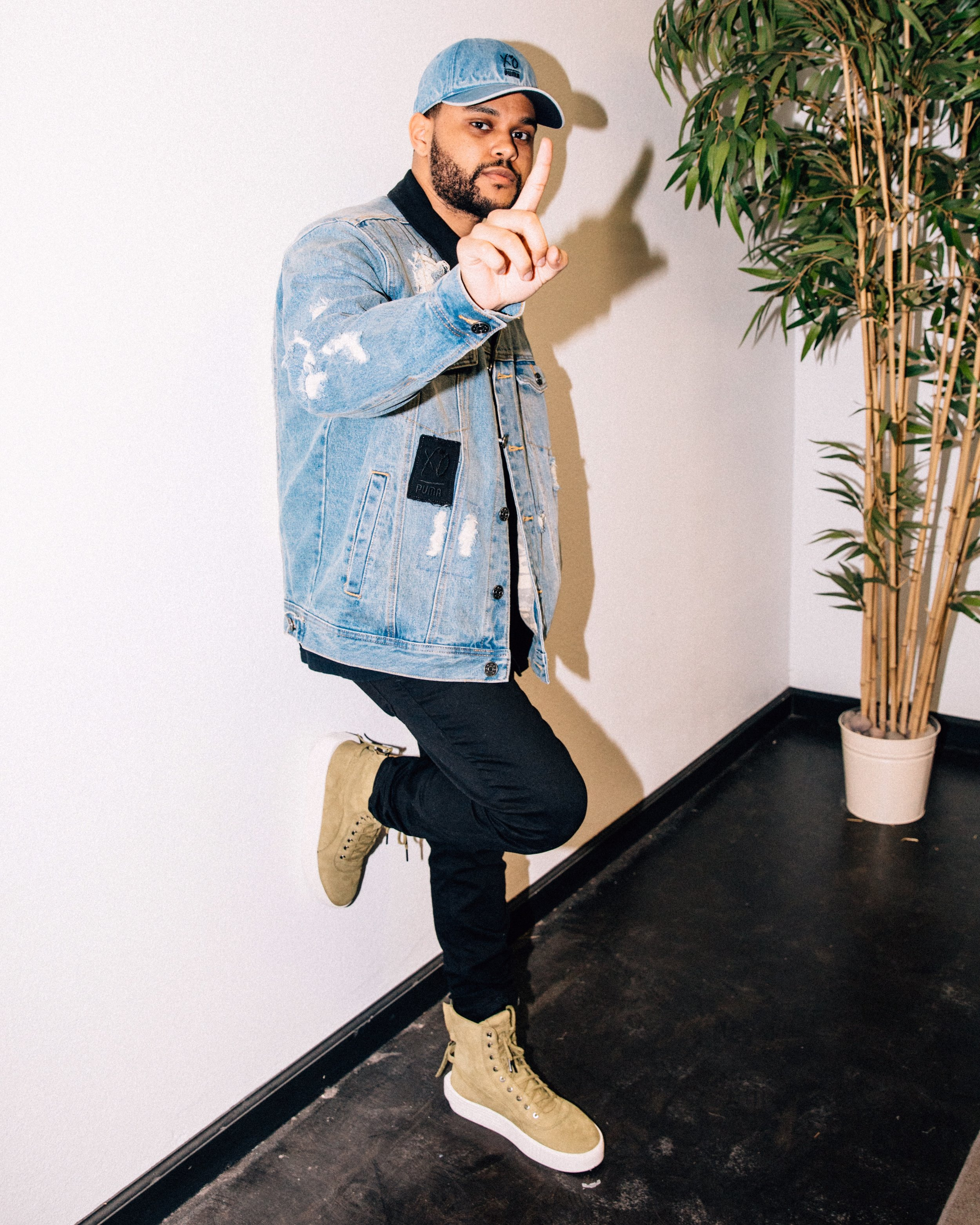 Kevin Wong for PUMA and The Weeknd