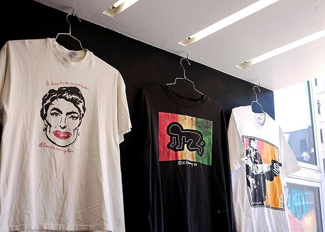 """The New Museum Store x Procell """"Vintage Art T-Shirts"""" pop-up for Frieze New York 2018. #icnclstprojects #icnclst @newmuseumstore @procell #newyork"""