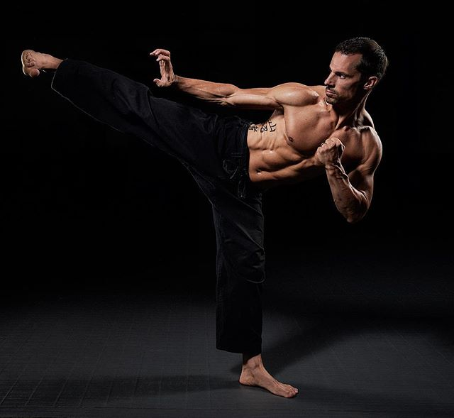 Finally able to share some of the images from the @martialarts.fit shoot a few months back. This is what dedication and hard work can get you! Check out the program at www.martialarts.fit