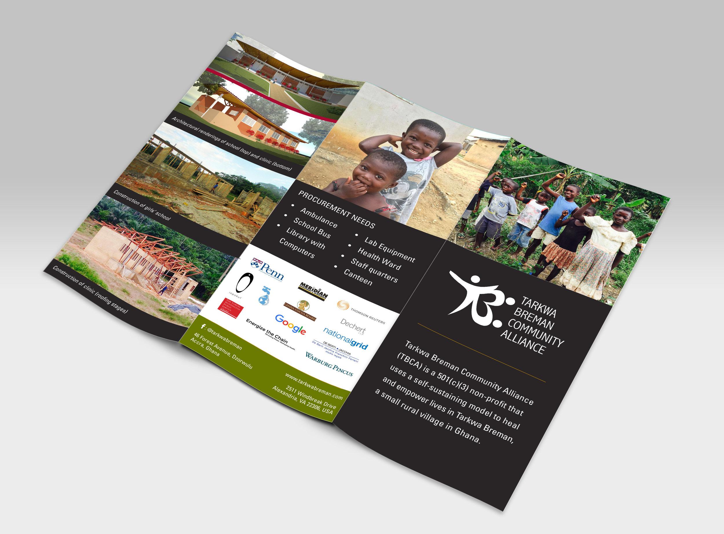 Draft of overview brochure (exterior)