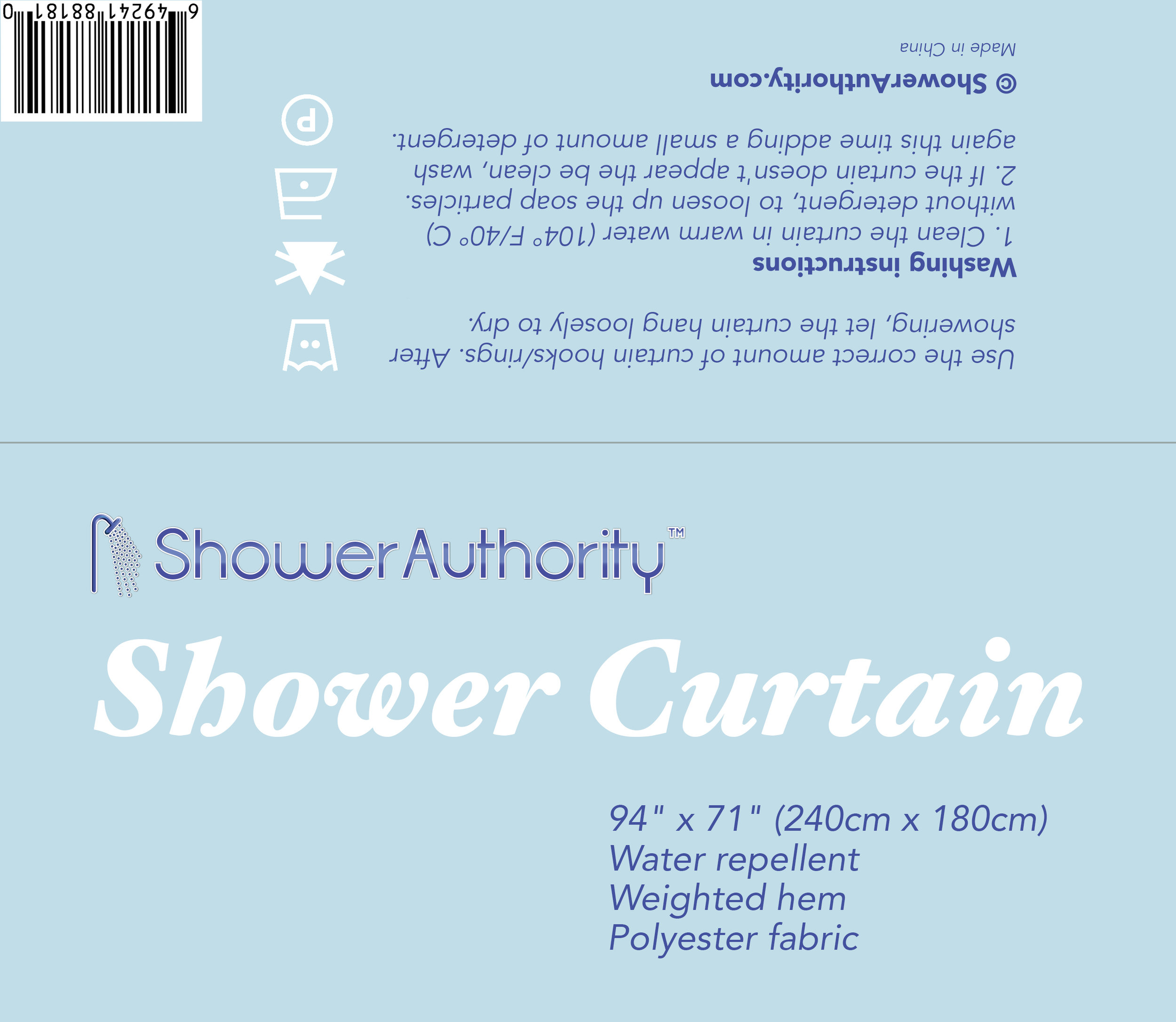 Fold-over product label