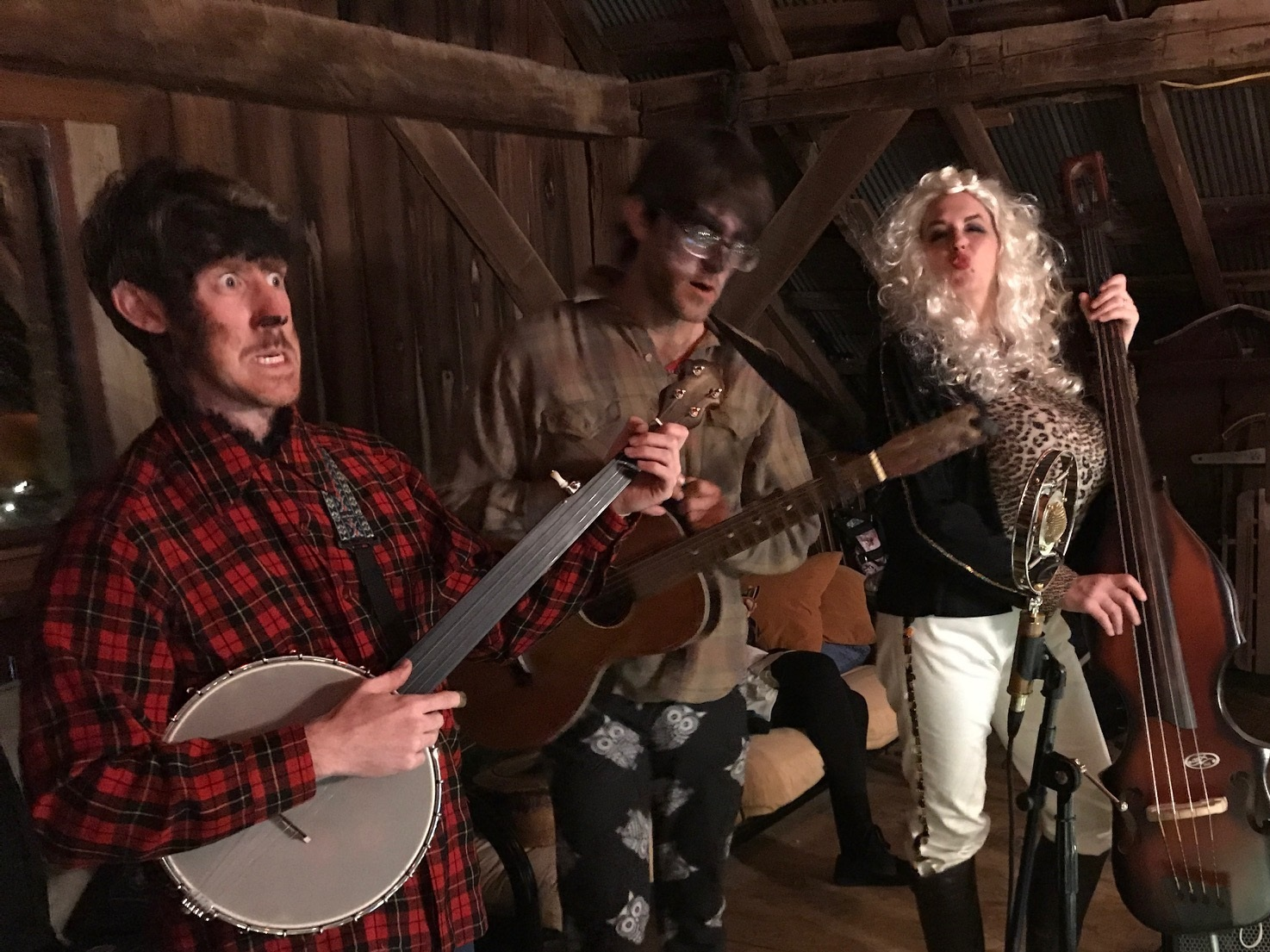 Old Time Halloween Jam with Dali Parton & New Hoosier Broadcasters