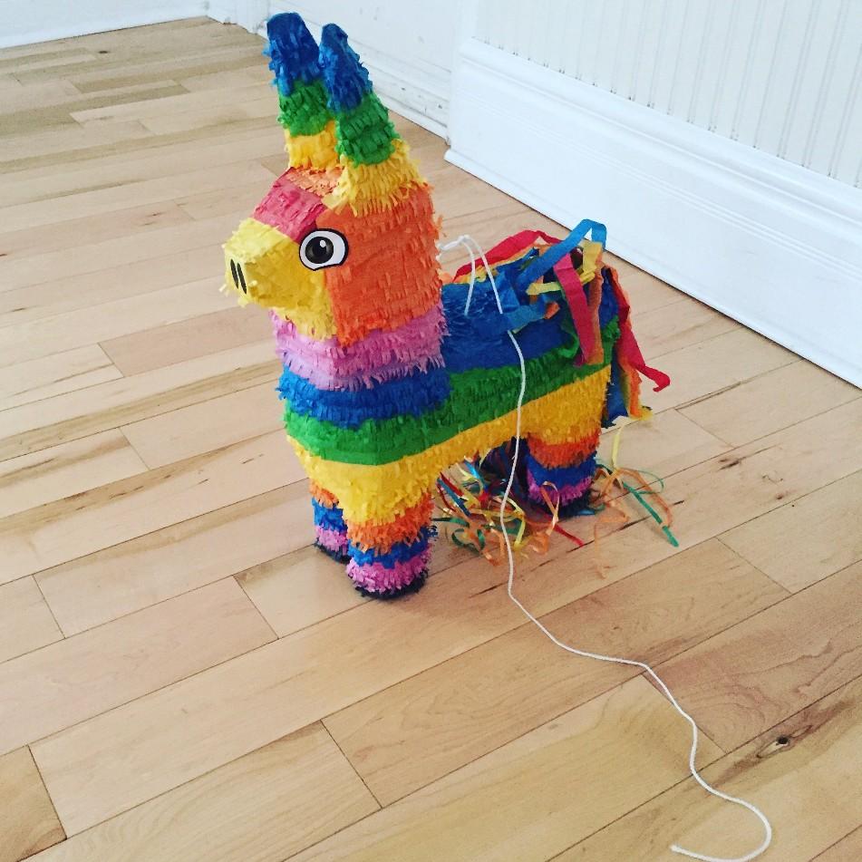 We had a piñata!
