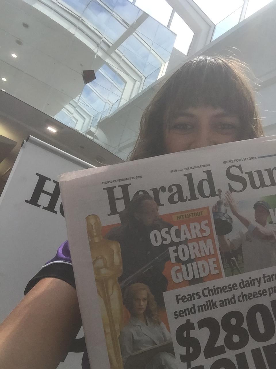 Up the Herald Sun!
