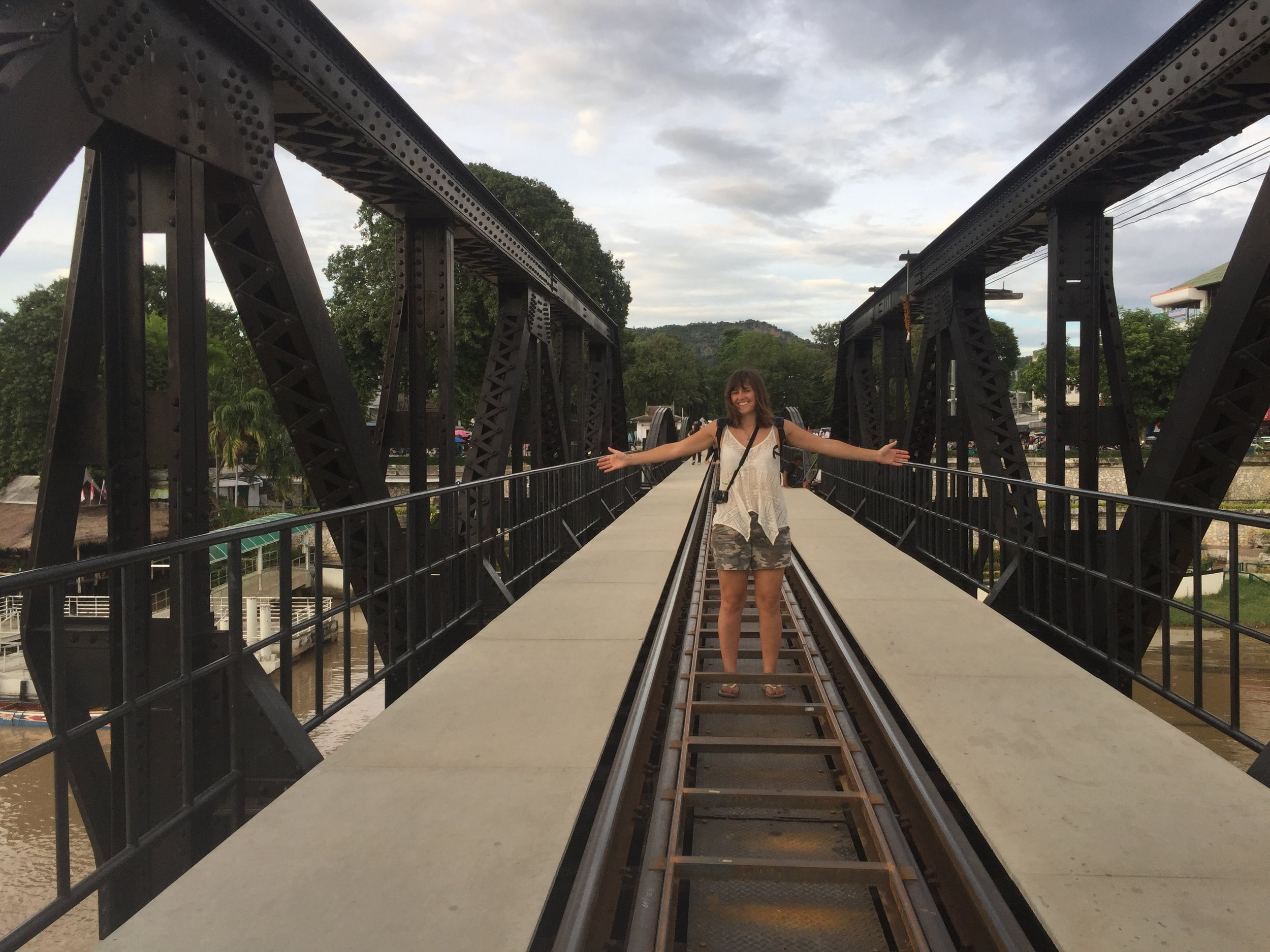 Bridge over the river Kwai.