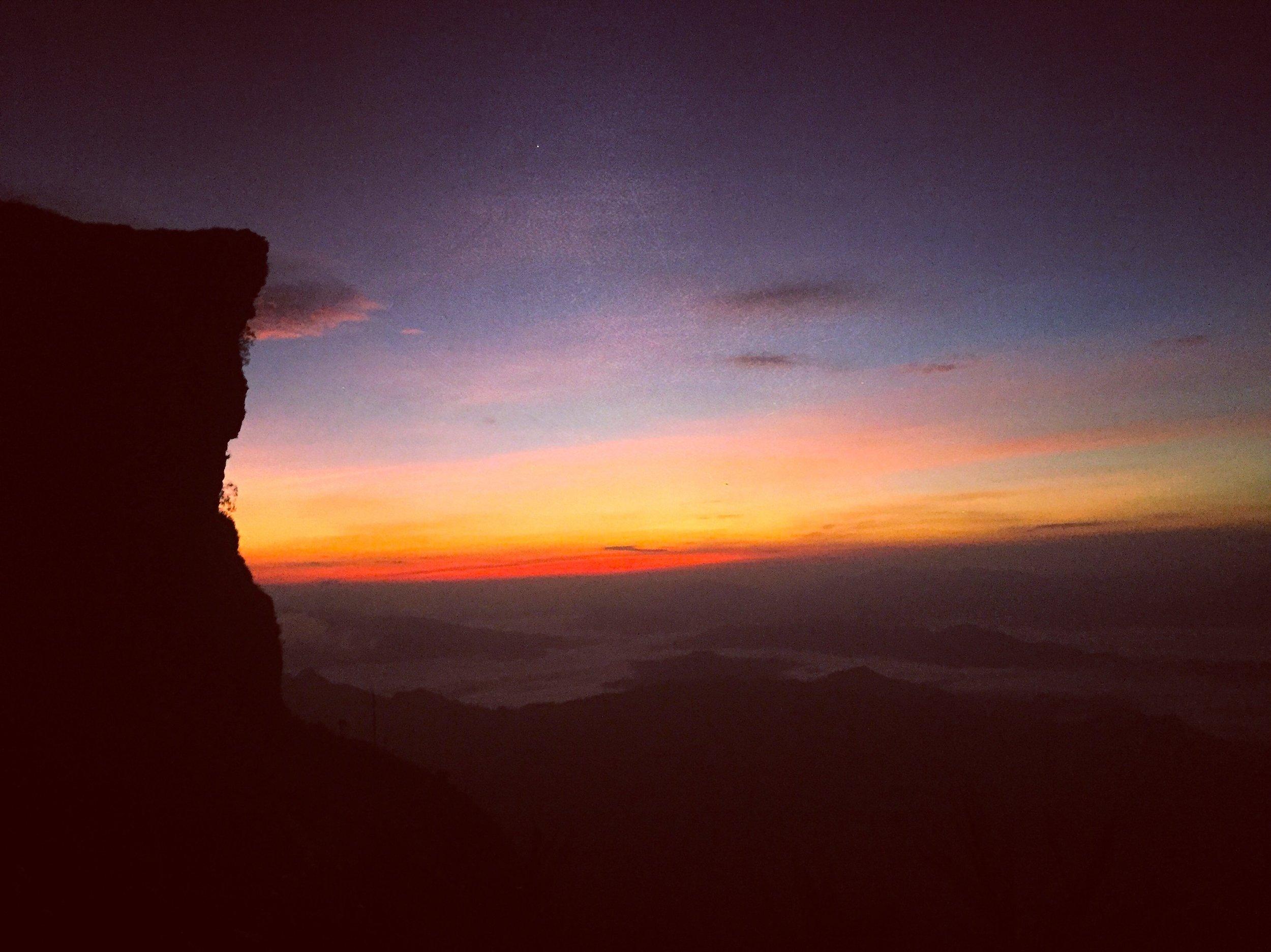 Sunrise at Phu Chi Fah