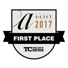 Awarded as Best New Restaurant 2017
