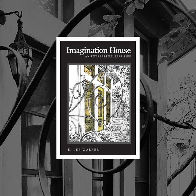 """I've mostly used this platform for sharing side projects, design & art that catches my eye, but I *do* also have some super graphic design clients that engage me in a wide variety of interesting projects! Today I'll highlight Lee Walker and his soon-to-be-released memoir, """"Imagination House: An Entrepreneurial Life"""".   Initially I lent an """"assist"""" on the book cover design but that lead to being asked to create his website ( eleewalker.com ). Lee has been a joy to work with & I highly recommend his book. In fact, come out to @BookPeople this Saturday 5/11 at 6p for his 'speak & sign'!   About the book… """"When twenty-one-year-old Michael Dell asked E. Lee Walker to be the president of his fledgling computer company, PC's Limited, Walker, in his mid-forties, immediately thought about all the people who had helped him through life—as an undergraduate at Texas A&M (class of '63), a graduate student at Harvard, and a once-young entrepreneur himself.   As he and Dell created the foundation of what would become one of the most successful companies in the world, Walker was guided by the lessons of his past business ventures, by his belief in the power of imagination, and by his relationships with people who had provided encouragement when he most needed it. When he leftDell Computer Corporationto teach, Walker discovered that the stories he took with him—of his aspirations, of his failures and triumphs, and of his friends and mentors—were the key to engaging and inspiring his students.  Here, Walker records those stories in a memoir that spans five decades and reveals a man whose curiosity, resourcefulness, and luck led him out of South Texas and into corporate boardrooms, university lecture halls, and community activism."""""""