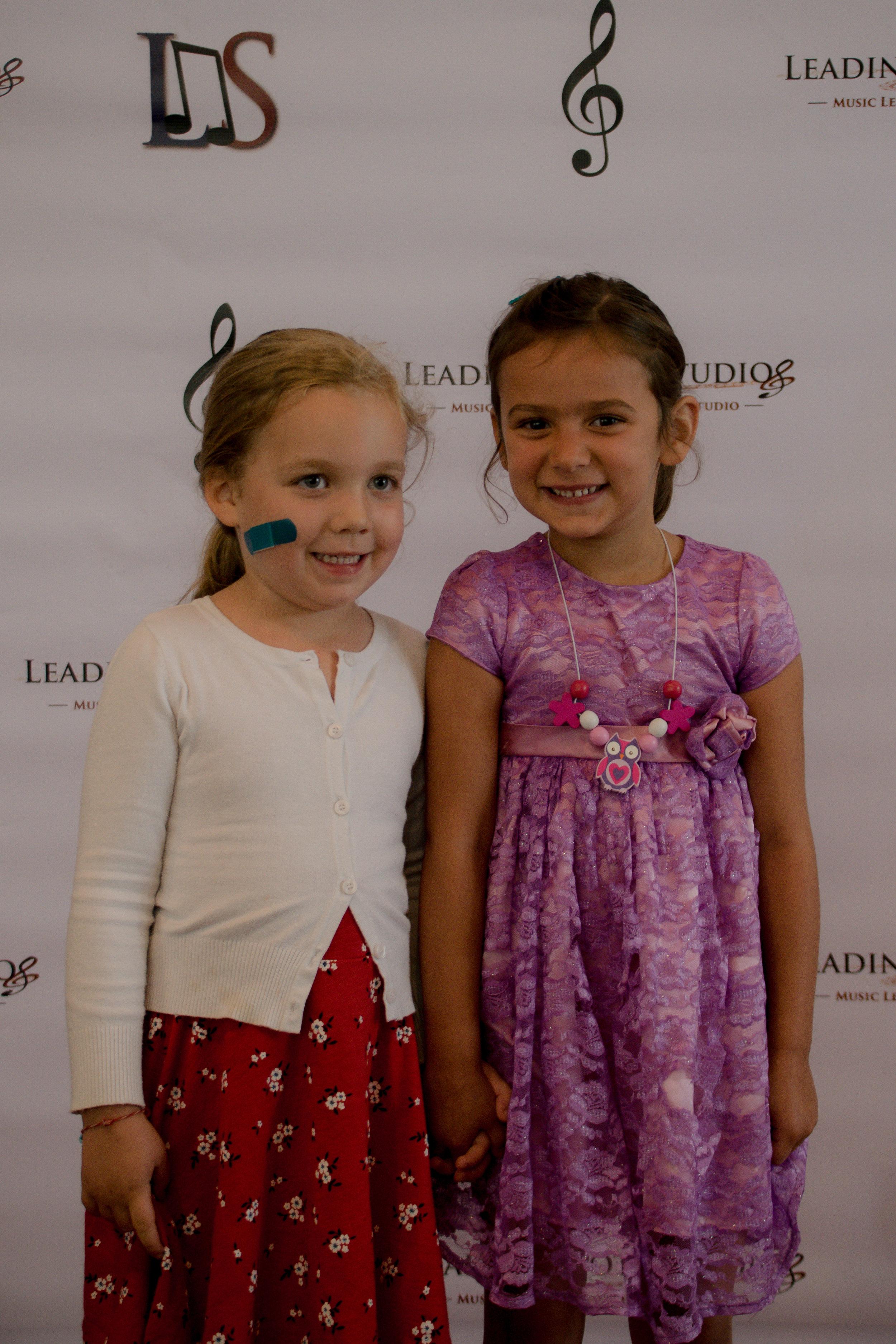 Madeline Peyer & Friend