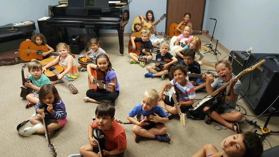 Intro to Music Camp Guitar Day