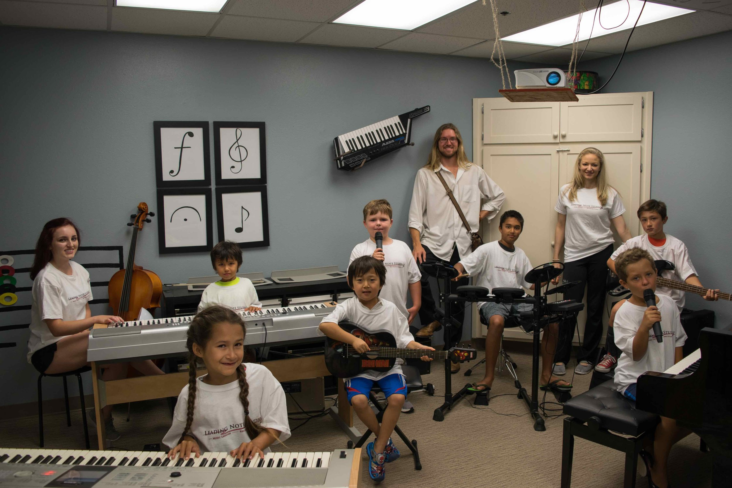 Pop, Blues and Jazz Music Camp