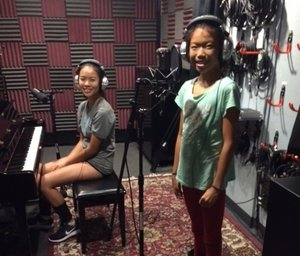 Piano and Vocal Engineer and record their song