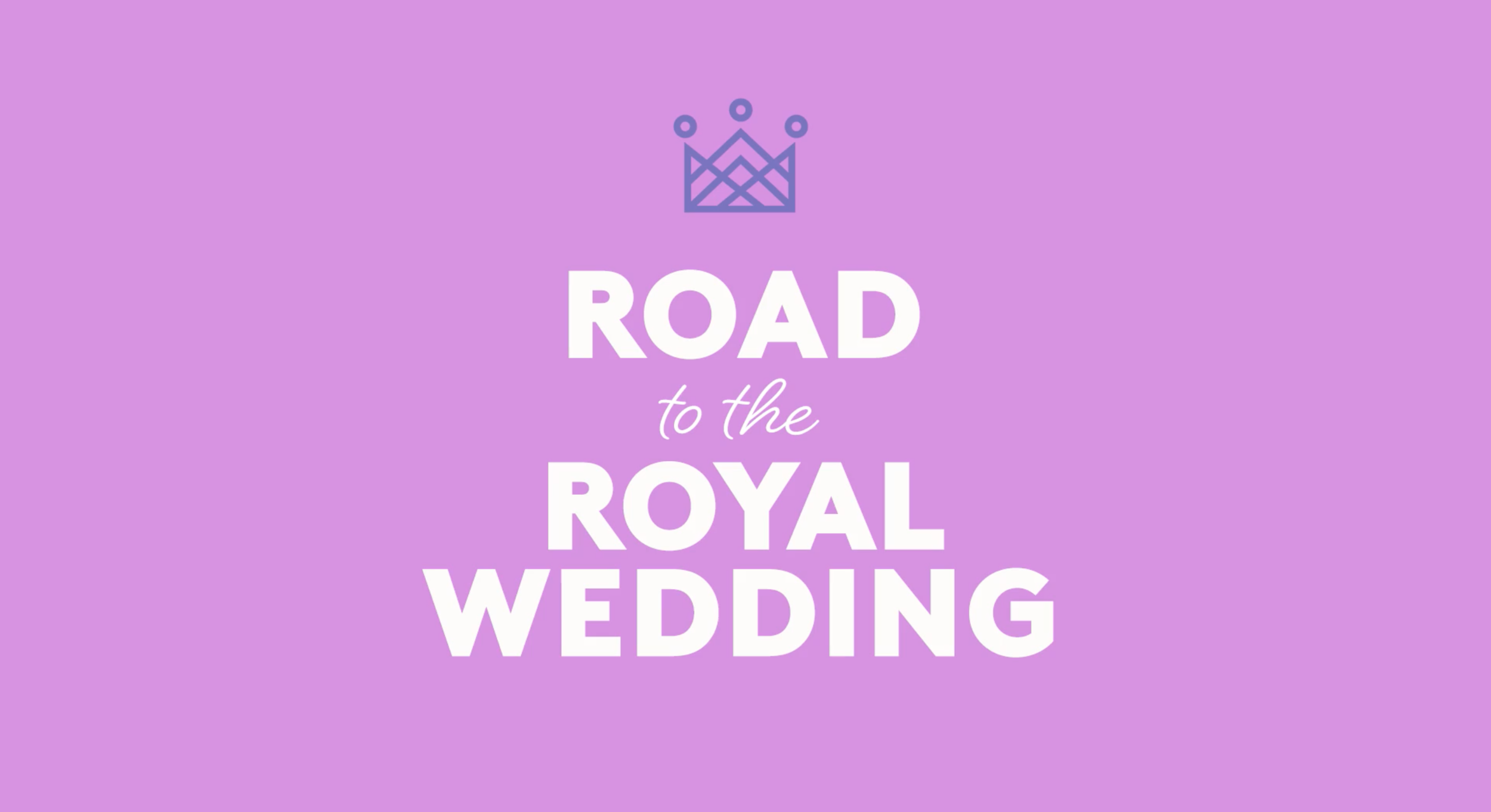 REAL SIMPLE MAGAZINE ROAD TO THE ROYAL WEDDING
