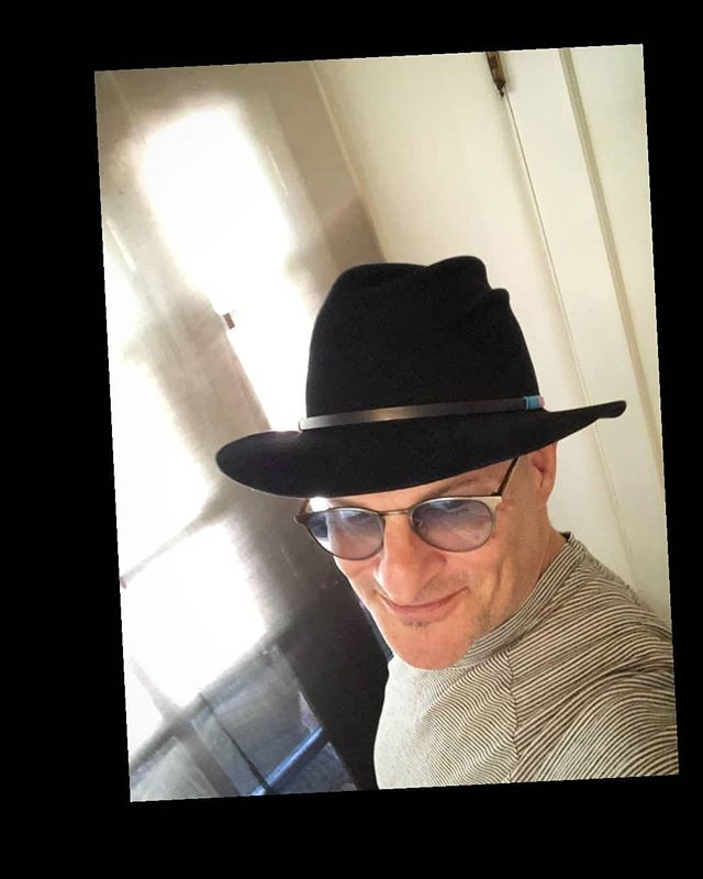 Jeff from one of my favorite places in our signature wedge fedora. .... #menshat #fedora #bayarea #berkeley #mensstyle #handdetailed #madeinnyc #californiabound #hatter