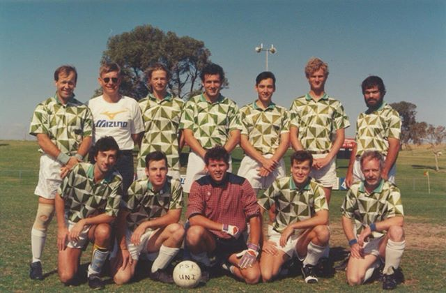 #TBT to a pre 90's era of football for @uwanfc  Can you guess what year this was?  #uwanfc #football #history #football #soccer #universityfootball #uwastudentlife