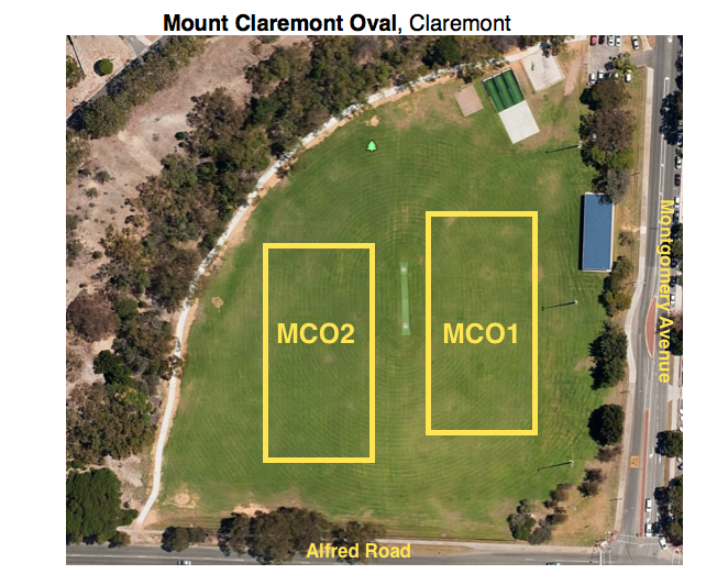 mount claremont oval