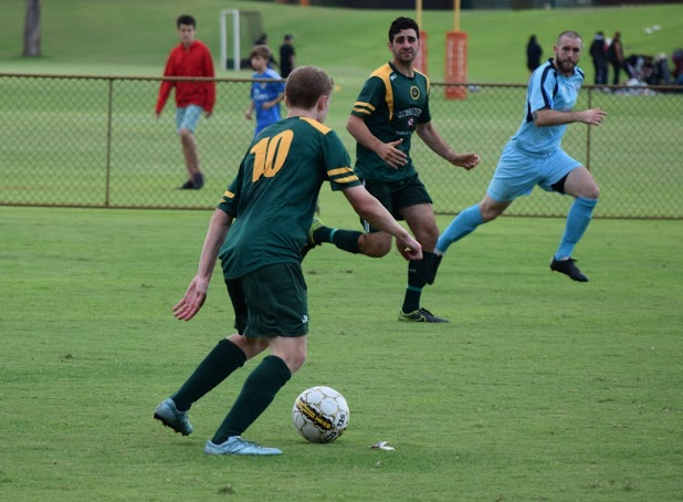 Kretowicz caused problems for the Mandurah defence on the opening match day