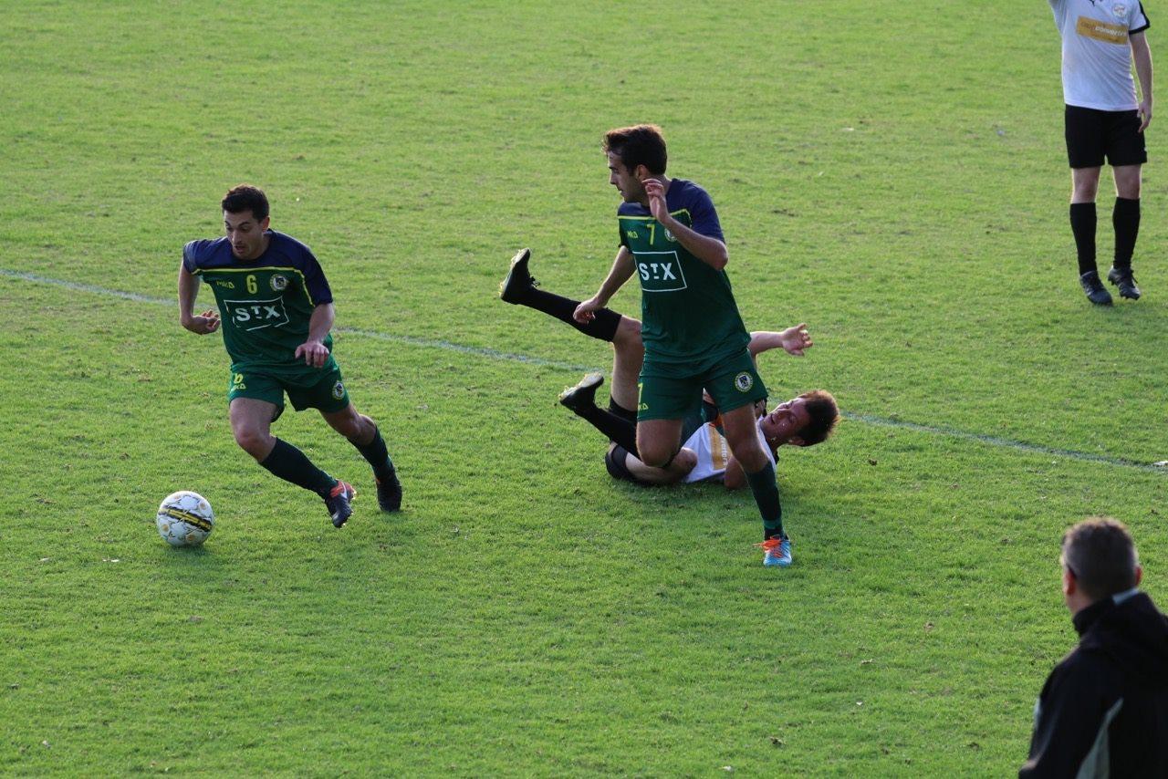 Luke Randazzo bursts forward - Credit: Gabriele Maluga