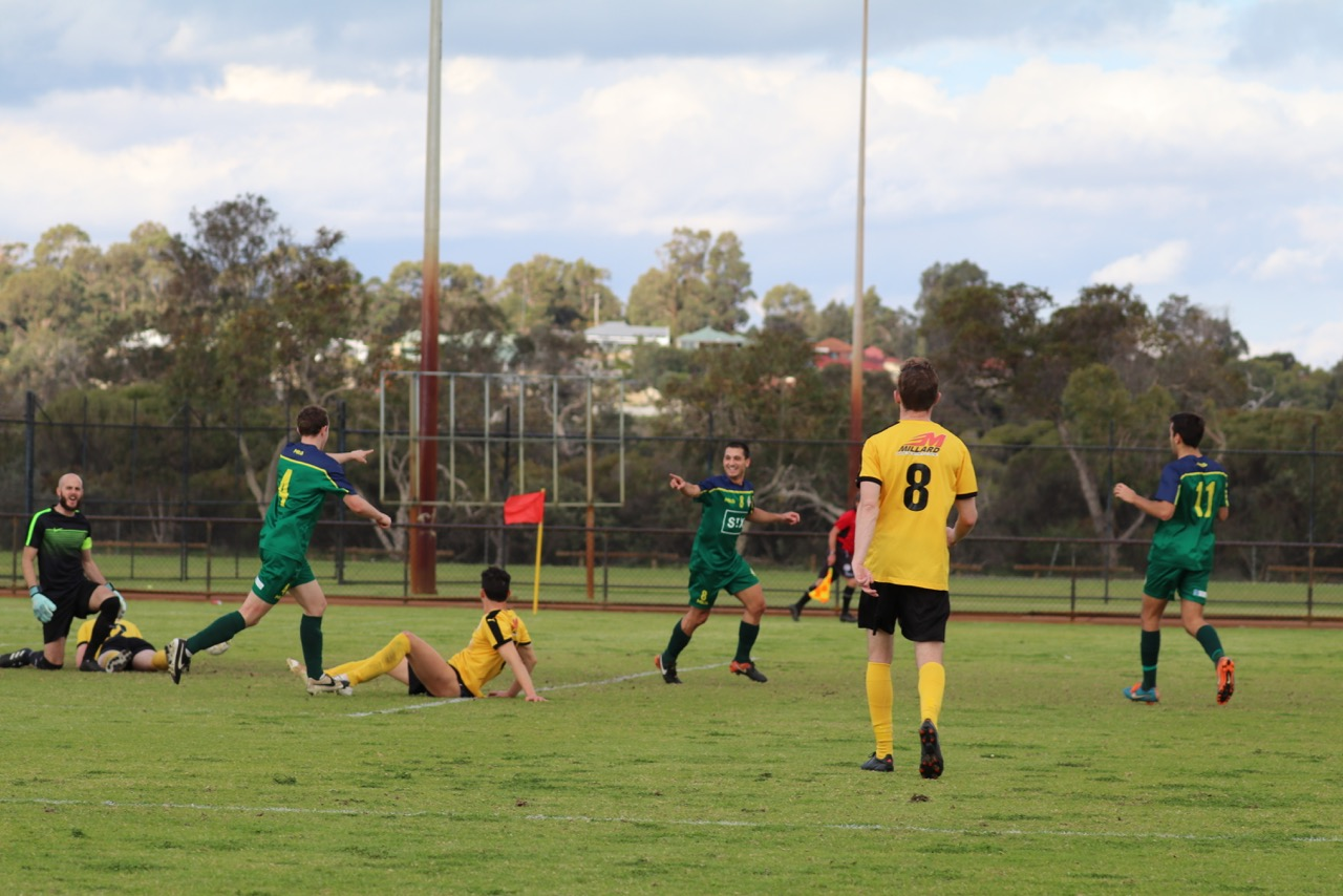 DESPITE DOMINATING THE ENCOUNTER, UWA HAS TO SETTLE FOR A POINT - CREDIT: GABRIELE MALUGA