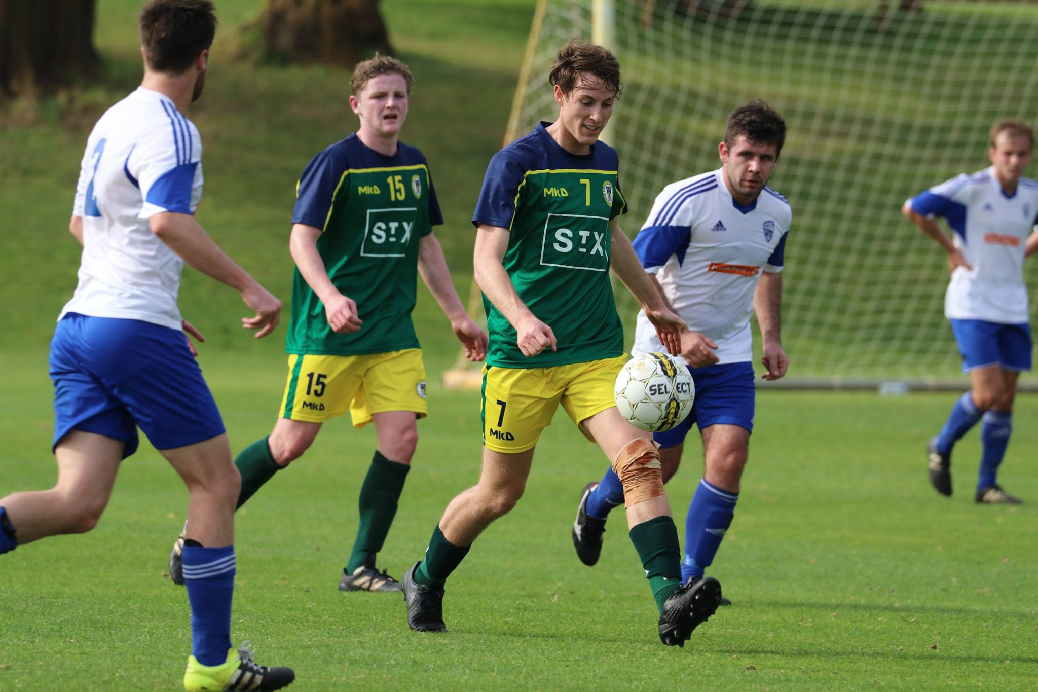 BRYCE CONWAY AND RORY DEVLIN DURING LAST SEASON'S WIN - CREDIT: GABRIELE MALUGA