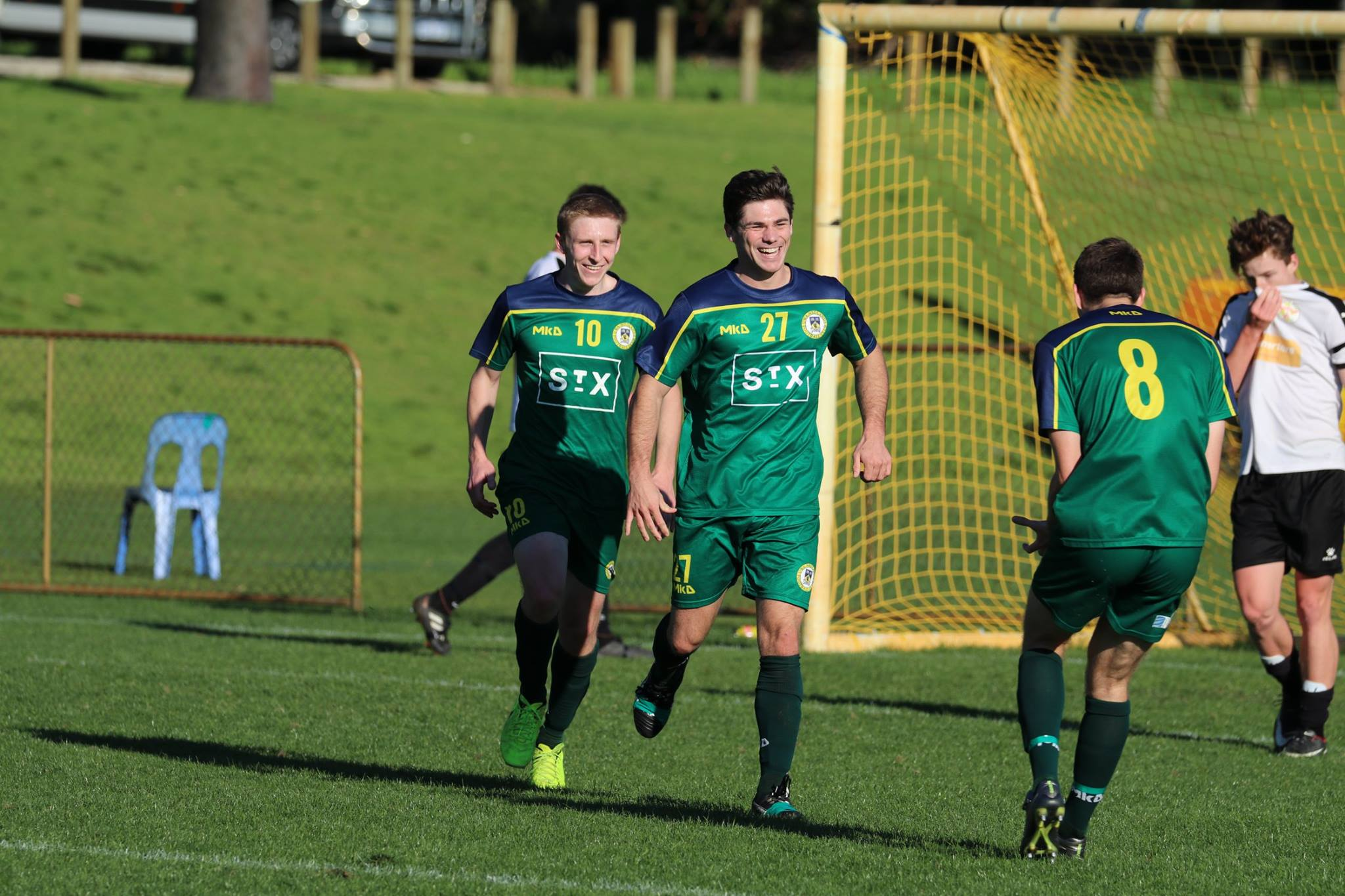 WELTON CELEBRATES HIS FIRST GOAL FOR THE CLUB - CREDIT: GABRIELE MALUGA