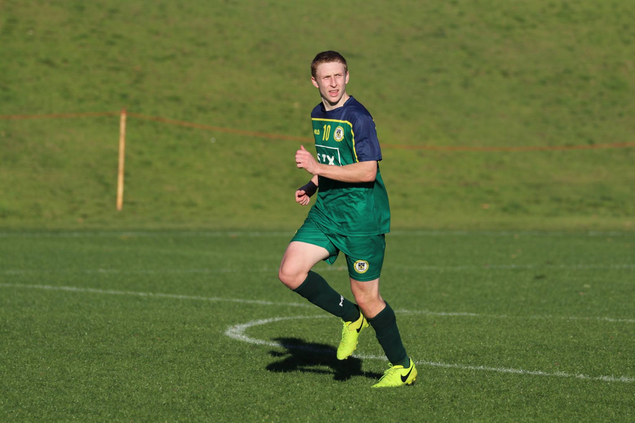KRETOWICZ WAS UNSTOPPABLE AS HE BURIED IN SIX GOALS - CREDIT: GABRIELE MALUGA