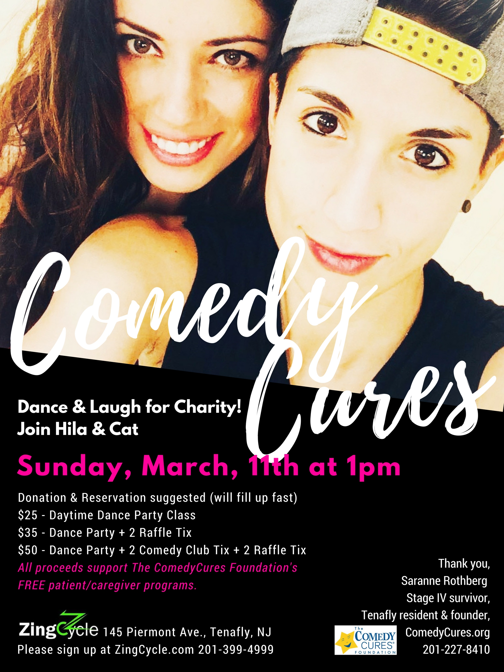 Dance & Laugh for Charity! Join Cat & Hila! Sunday, March 11th at 1pm.jpg