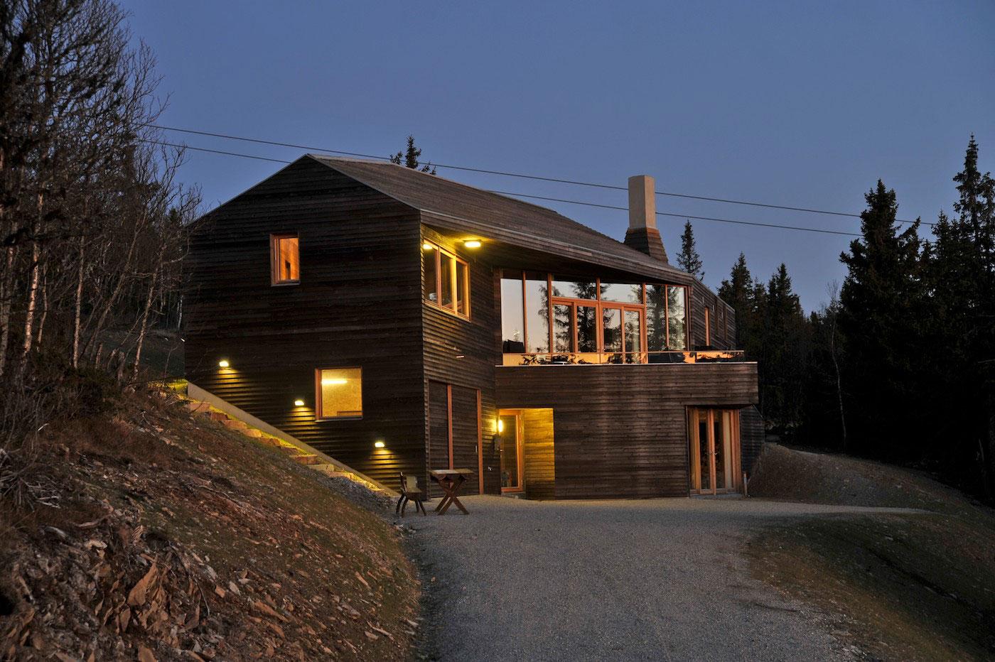 Hytte på Kvitfjell