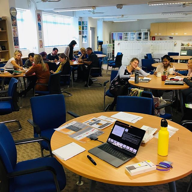 Great contributions, questions and engagement over the past few weeks from staff at ESF Kennedy School.  __ Thank you to all the staff that attended my 3 part workshop series over the past three weeks!  #byobeat #workshops #sleep #stress #employeewellbeing #wellbeing #lifestyle #mentalhealth #energymanangement #practice #selfleadership #practicebeingwell