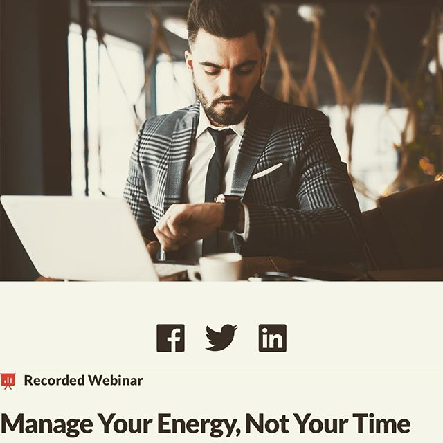 Recently we presented a webinar on 'manage your energy, not your time' together with @firstbeat_technologies .  __ Rachael spoke about lifestyle factors and behaviours that influence our performance and energy levels at work and in life. Data from case studies were presented to bring to life how our body resources are utilized and replenished within four domains of energy management:  The body - physical energy Our emotions - quality of energy The mind - focus of energy The human spirit - energy of meaning and purpose  If you missed click link in bio to listen to the recording. . . . . #byobeat #webinar #energymanagement #resiliency #performance #lifestylecoach #stress #employeewellbeing #wellbeingatwork #productivitytips #mindfulness #hongkong #entrepreneur