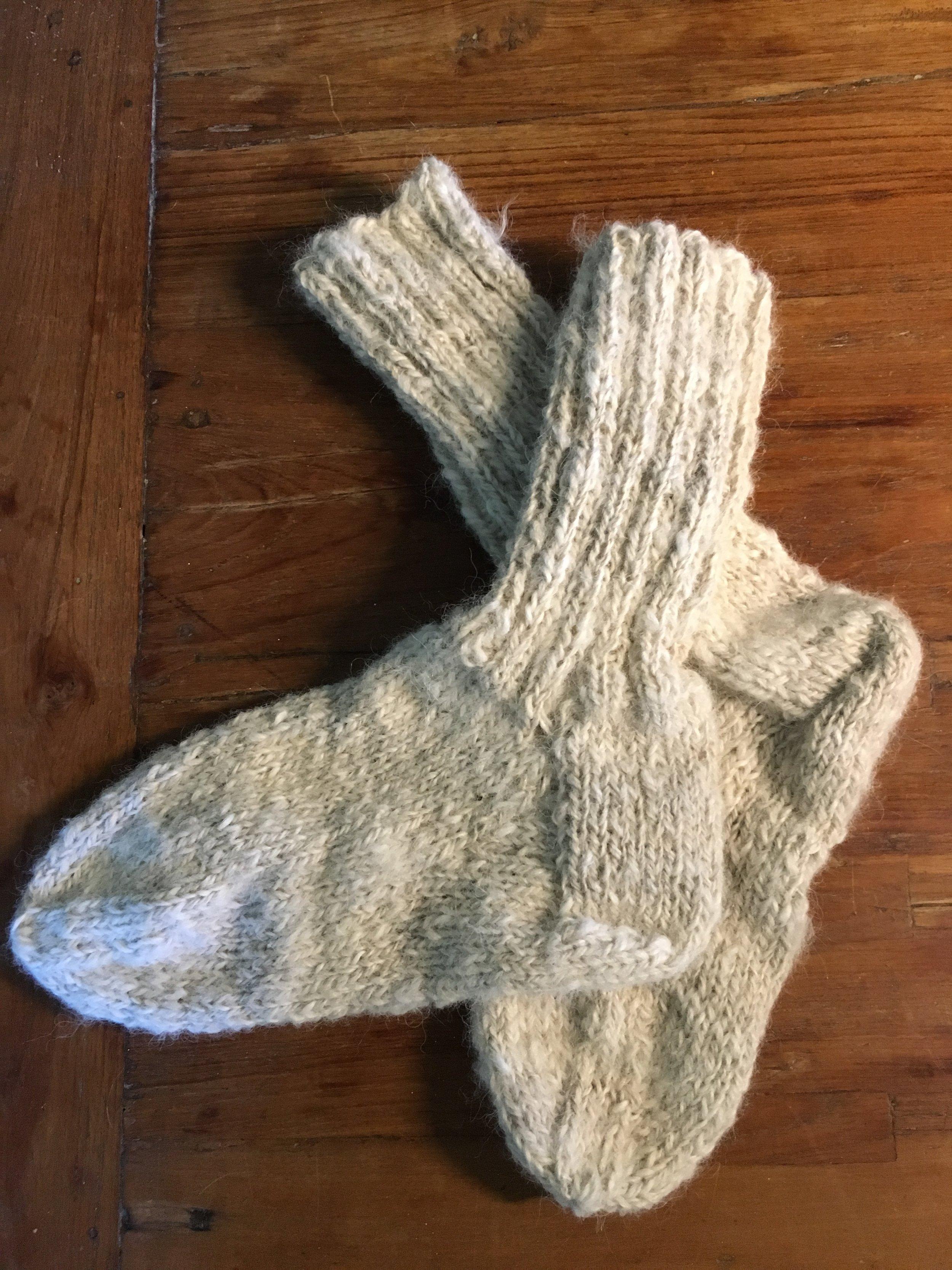 Socks - Alpaca bed socks
