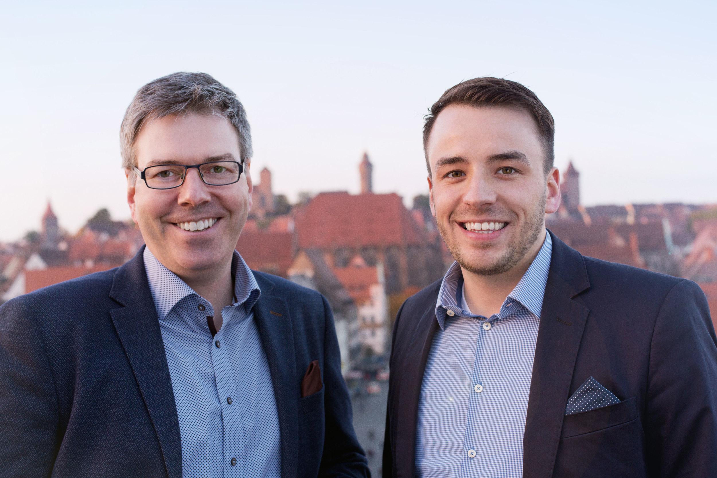 von links: Gerhard Neudecker, Sebastain Mann