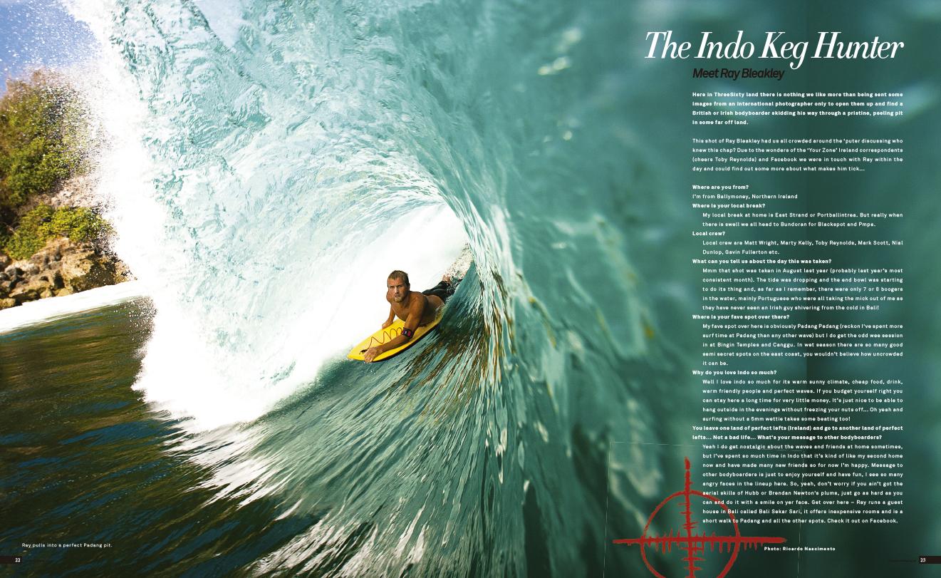 ThreeSixty Bodyboard Magazine