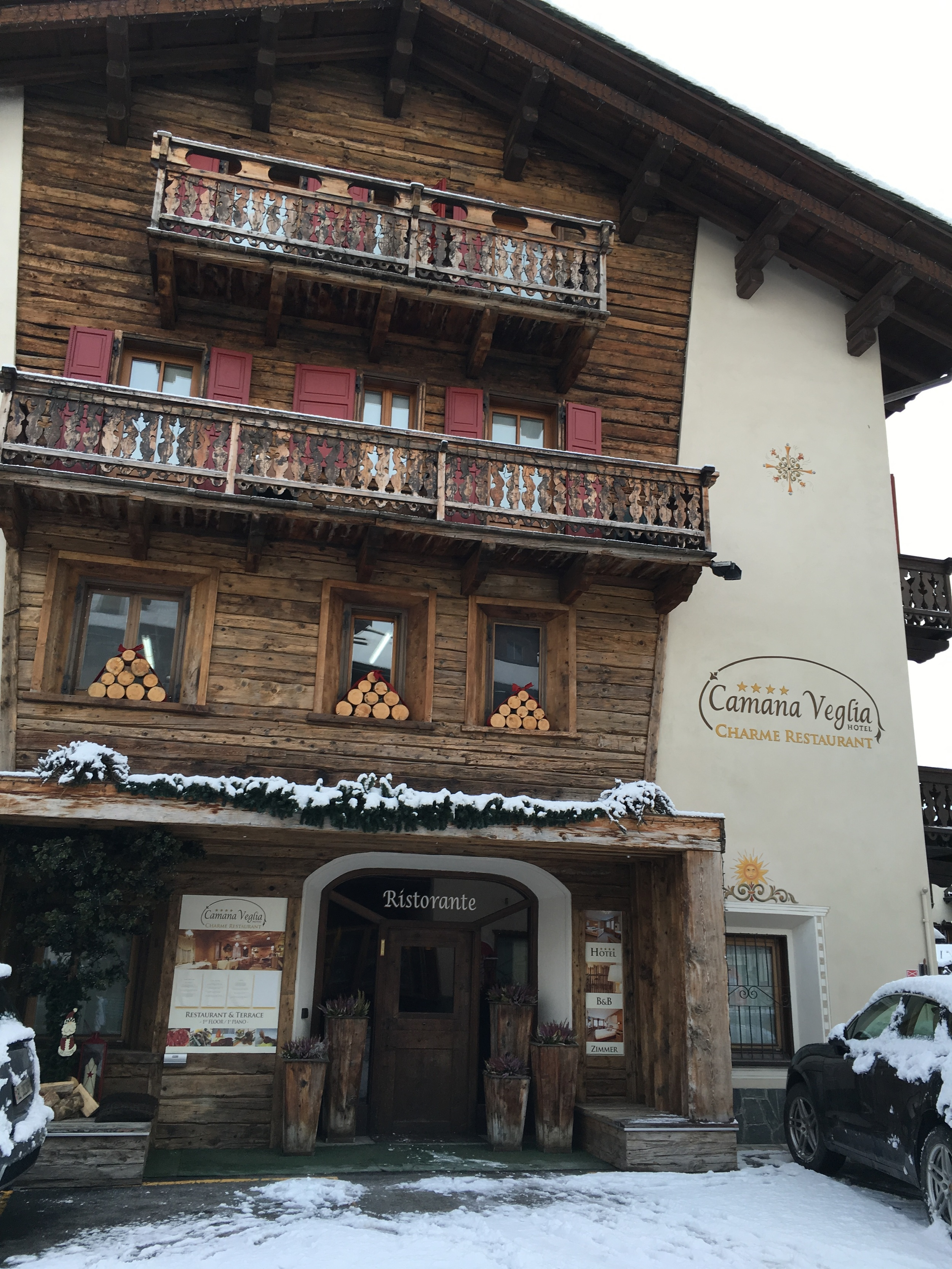 The Hotel we stayed in. Will highly recommend it to anyone planning on visiting Livigno. All the staff was incredibly friendly and gave great advice regarding the slopes and which mountain to ski when.