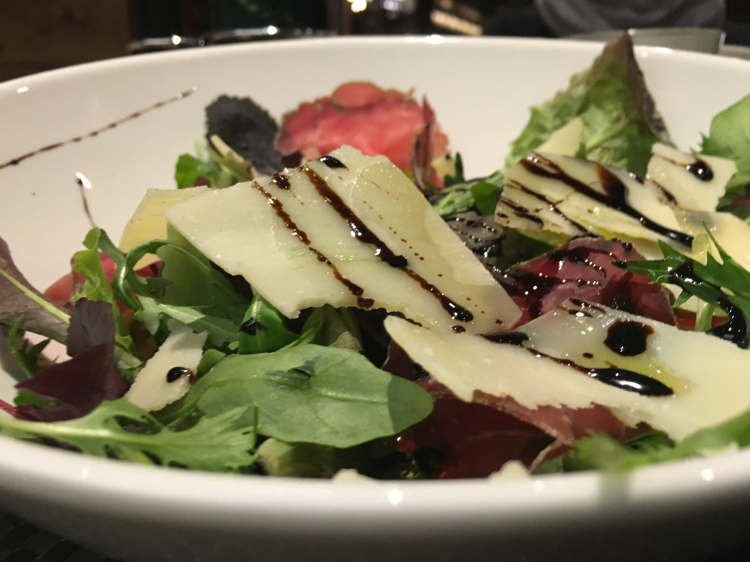 """The only """"decent"""" salad in Livigno, it was also the most expensive salad of my life so far! However it was worth every euro, so delicious!"""