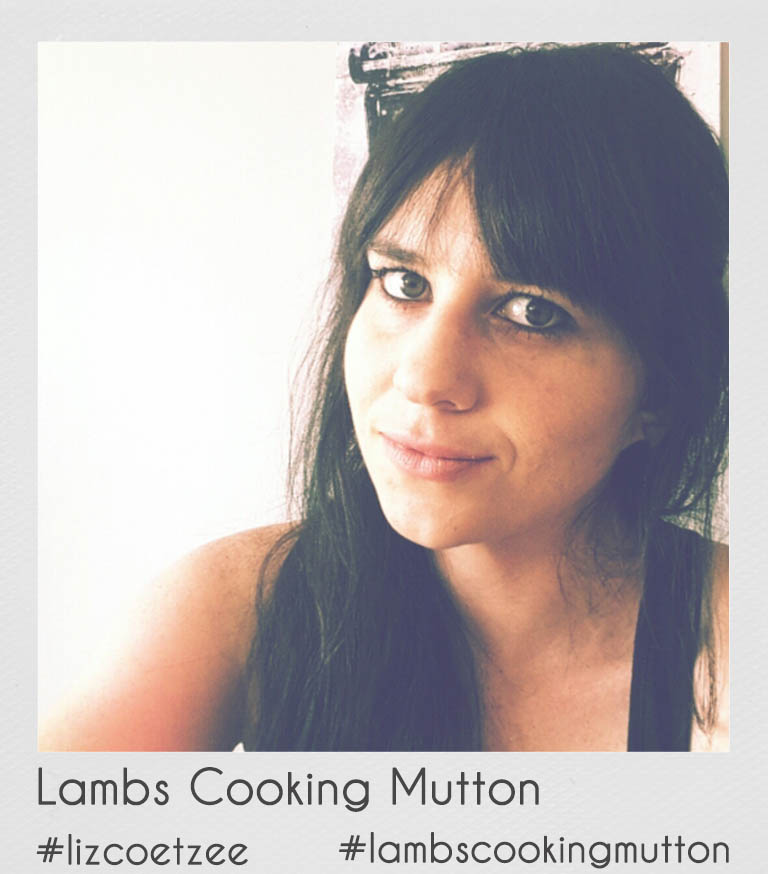 "ABOUT THE AUTHOR    Fellow foodie friends, Marina and Lizanne are ""Lambs Cooking Mutton""! Armed with their blog posts and a frequent feature in the ""Weg and Go"" magazines they are on a mission to make cooking with lamb inspiring and creative but also less intimidating for the modern young lady or gentleman! They will also be travelling across SA to bring you news and reviews on South African meat festivals and restaurants where winning lamb and mutton dishes are served.    Although Lizanne is a designer by day, and Marina a MSc Nutrition student on the side, their roles are ironically switched when it comes to cooking with lamb. Lizanne is always looking for ways to cook and eat healthy and will also keep you up to date on how to keep your lamb dishes as healthy as possible. Marina on the other hand loves creating absolute indulgent and creative lamb dishes that have no mercy on your diet. But between the two of them they will provide you with lamb dishes for every occasion!"