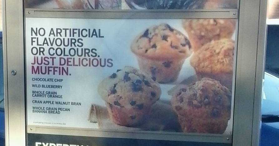 drive-thru muffin ad