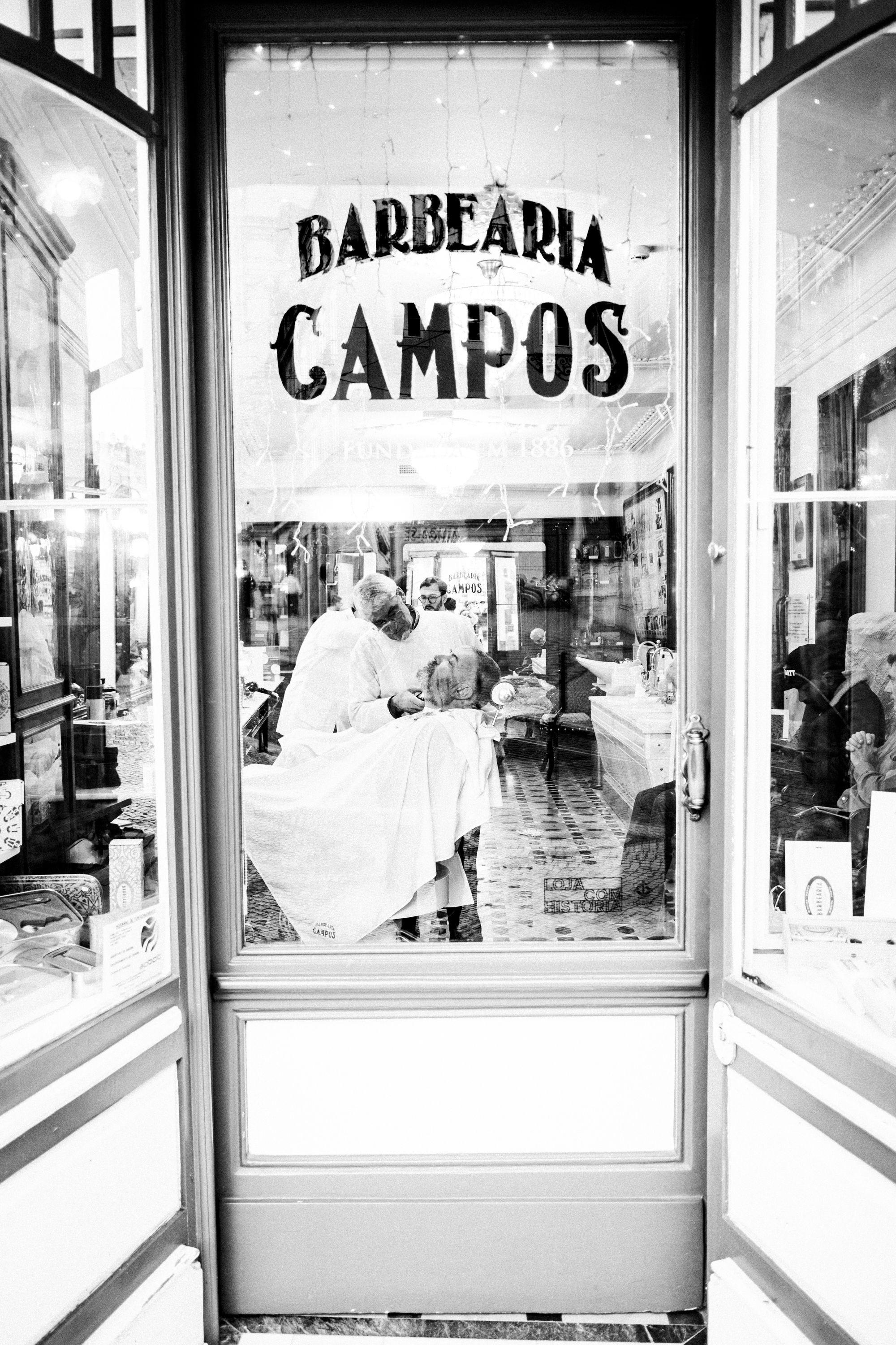 If you're ever in Lisbon and need a haircut or get your beard trimmed go to Barbearia Campos.  Highly recommend!