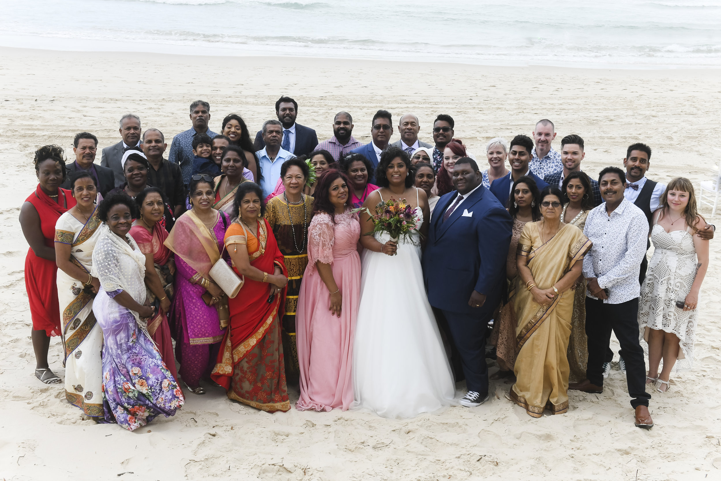 - Guests came from Fiji, Canada, New Zealand and northern Queensland to celebrate in such a special day.