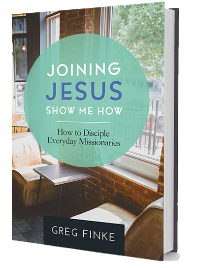Joining Jesus — Show Me How, Book Cover