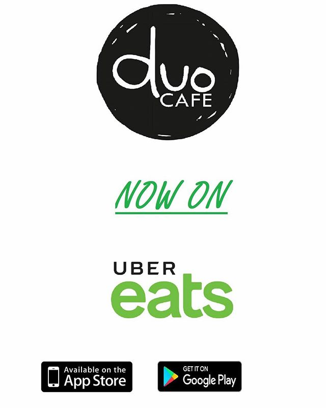 Lazy or no time to go out for breakfast and lunch❓ Not a problem❗ We're now on Uber Eats 🎉🎉 You can now order our delicious and healthy cuisines and beverages on Uber Eats 📱🖥️, and get them delivered to your door step🛵🛵 Click here to order 👉  https://www.ubereats.com/en-AU/brisbane/food-delivery/duo-cafe-caboolture/h5woZxH0SniNv5v-DlHtiw/ *Delivery fees is applied per order (Depends on area).