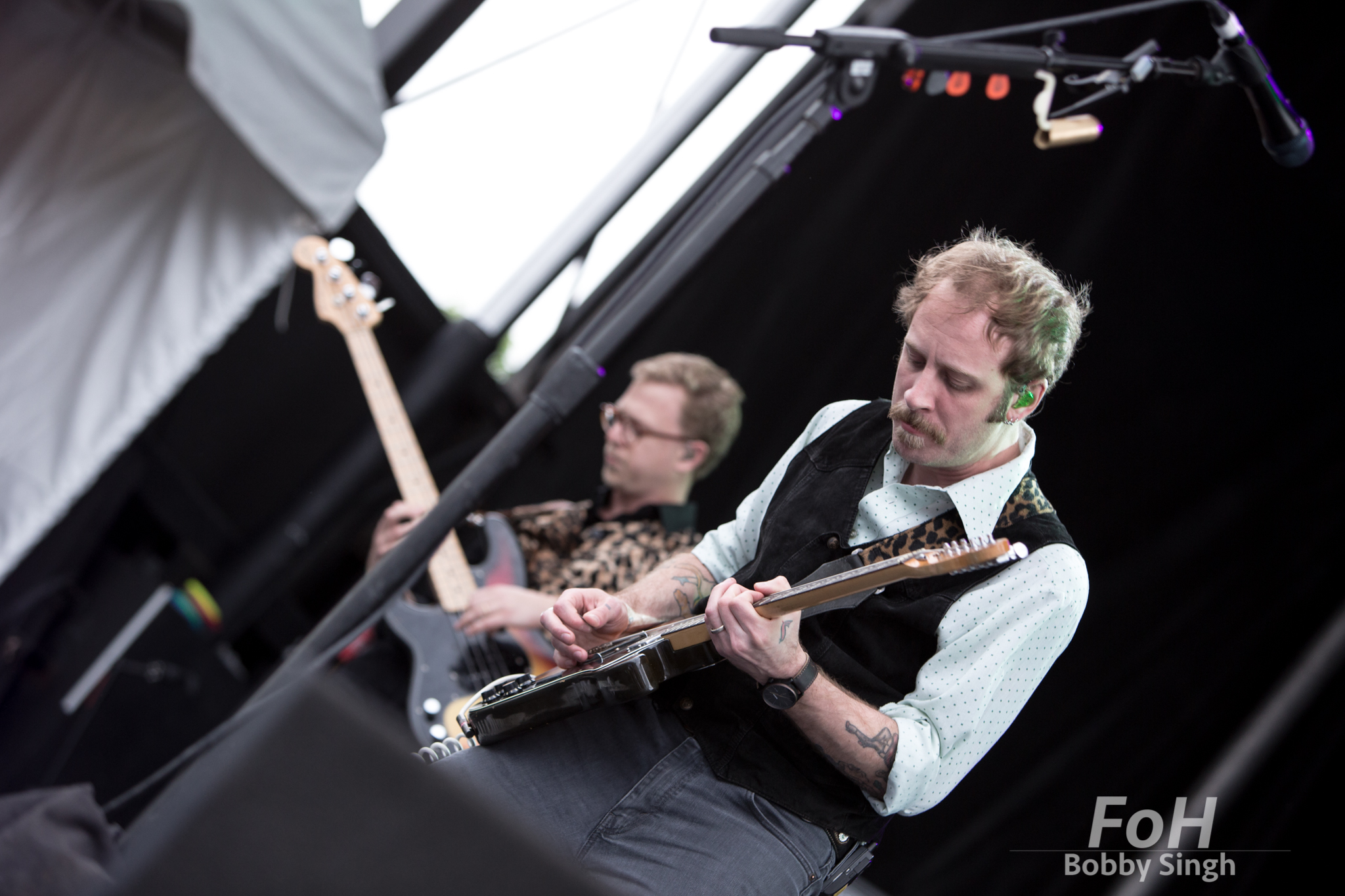 Deer Tick performs at the 2018 Field Trip Music & Arts Festival in Toronto
