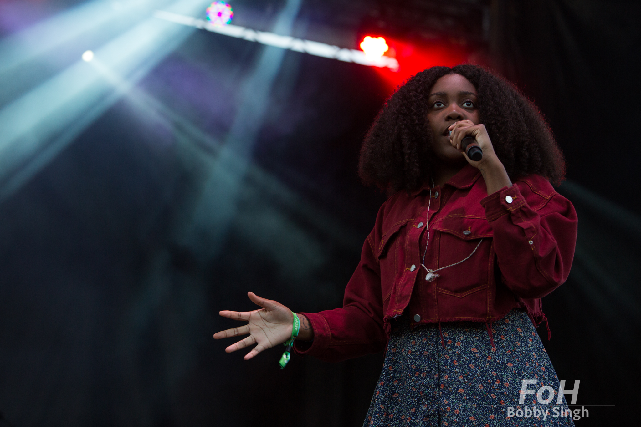 Noname performs at the 2018 Field Trip Music & Arts Festival in Toronto, Canada.