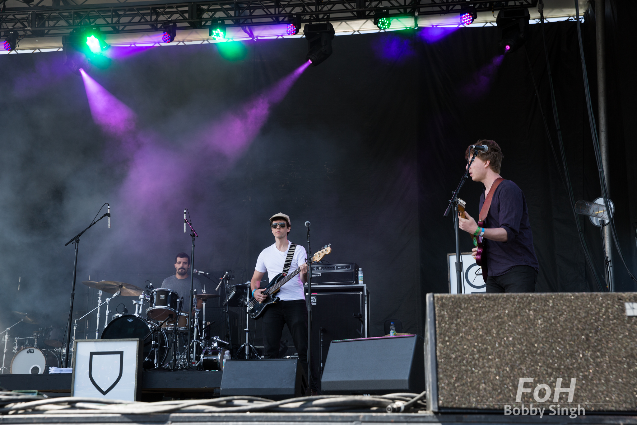 Reuben and the Dark perform at the 2018 Field Trip Music & Arts Festival in Toronto