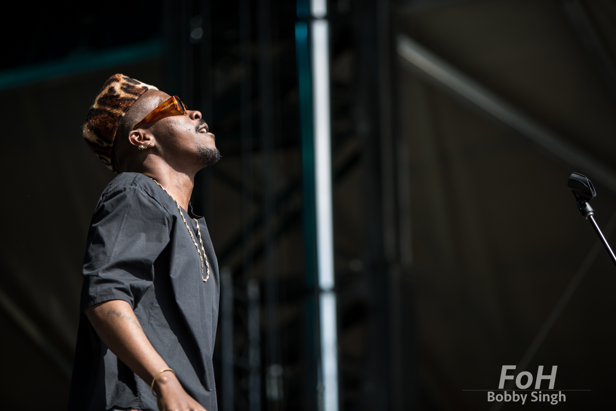 Pierre Kwenders performs at the 2018 Field Trip Music & Arts Festival in Toronto