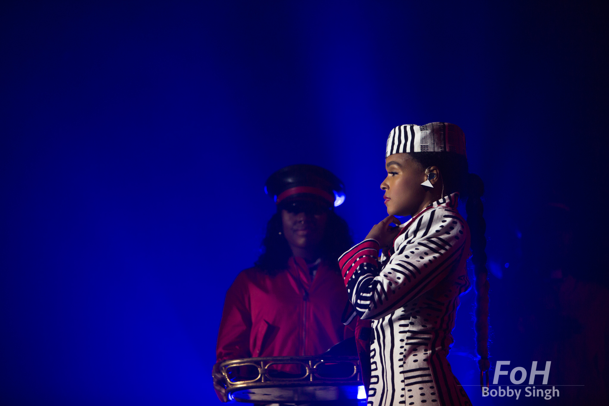 July 16th 2018. Janelle Monae performs at Rebel Nightclub in Toronto.