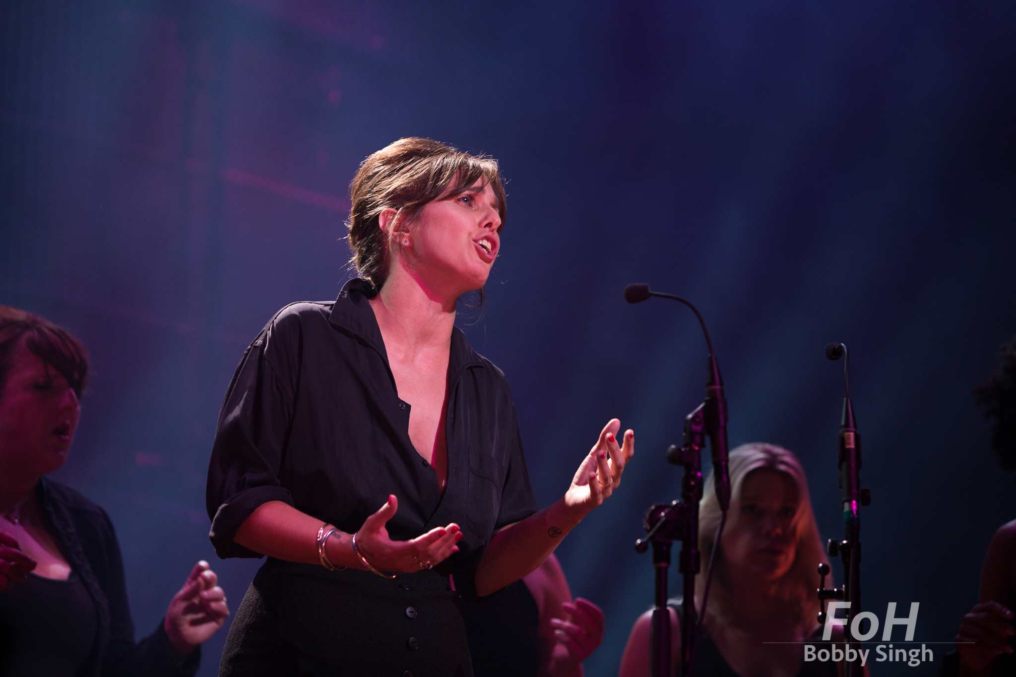Toronto, CANADA. 17th September, 2018. US Girls' Meg Remy performs at the 2018 Polaris Music Prize Gala in Toronto, CANADA.