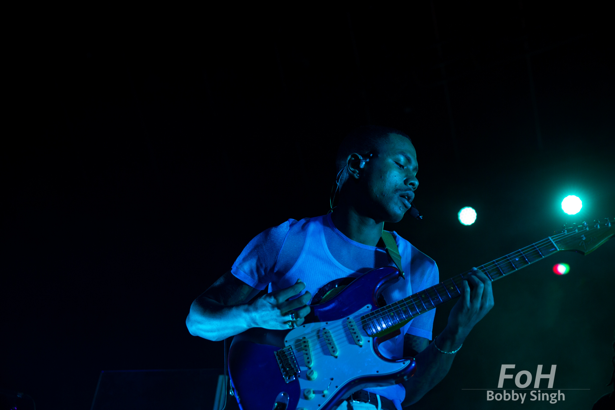 Toronto, CANADA. 09th, December 2018. The Internet guitarist Steve Lacy performs at Rebel Nightclub